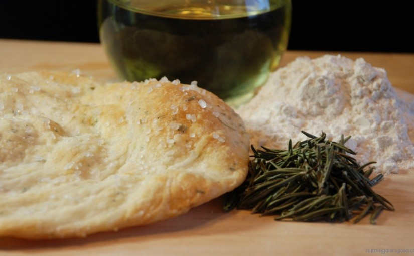 Crisp Rosemary Seasalted Flatbread!