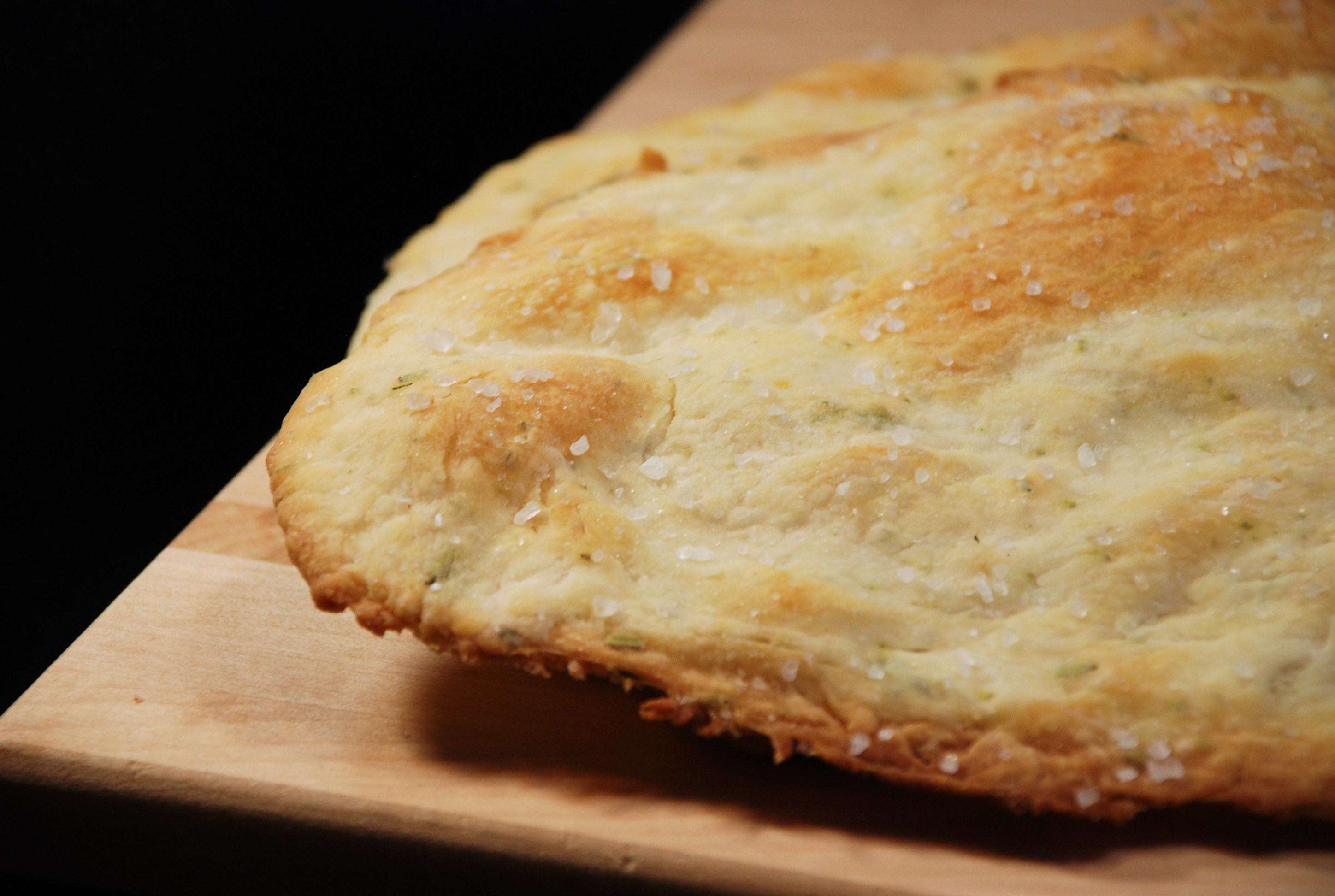 Crisp Rosemary Flatbread Recipe — Dishmaps