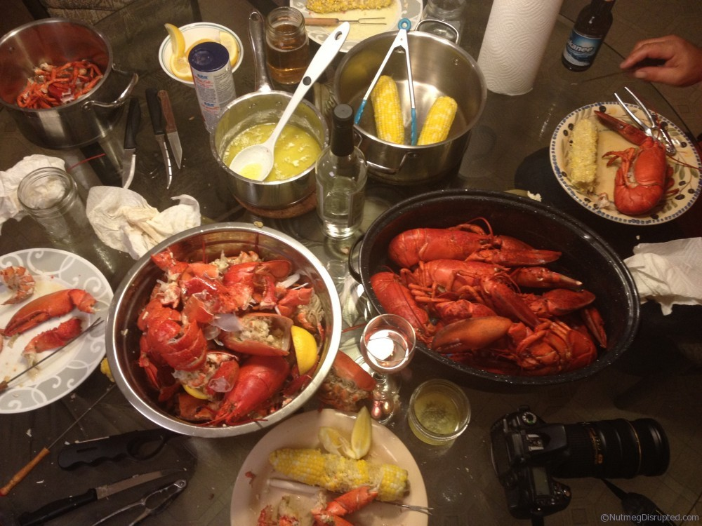Summer lobster boil feast!