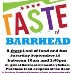 A Taste of Barrhead