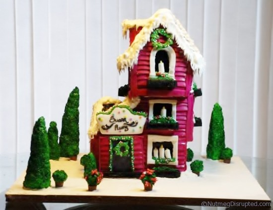 Sugar Plums Gingerbread House by Nutmeg Disrupted