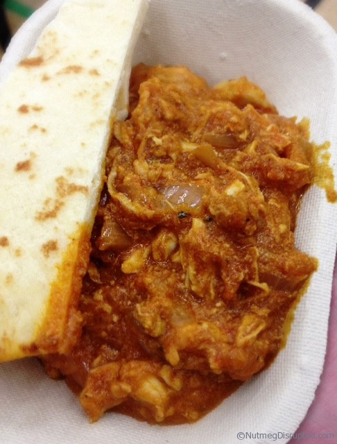 Butter Chicken at The Taste of Barrhead