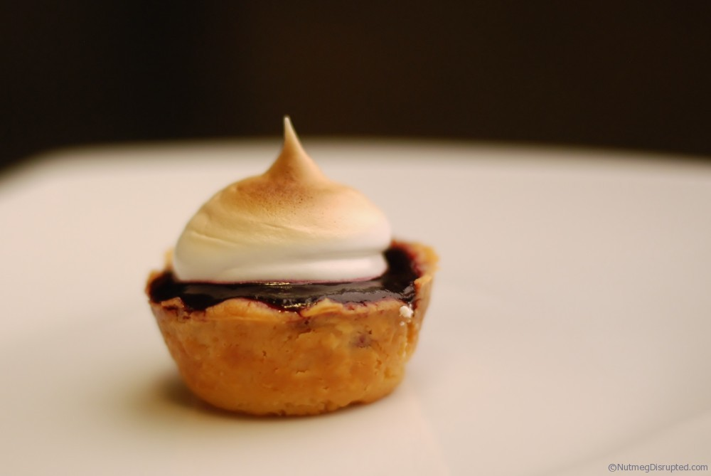 Coronatio Grape Meringue Tarts