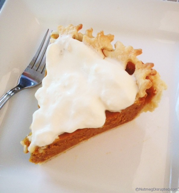 Pumpkin Pie at Nutmeg Disrupted