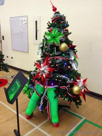One of the many trees at The Festival of Trees in Barrhead