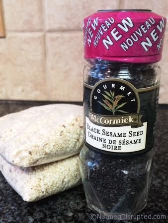 Sesame Seeds in the Nutmeg Disrupted kitchen
