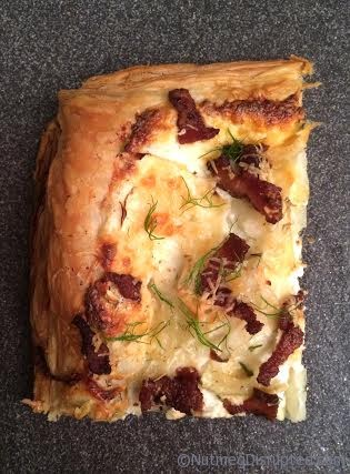 Fennel Onion Tart - Nutmeg Disrupted