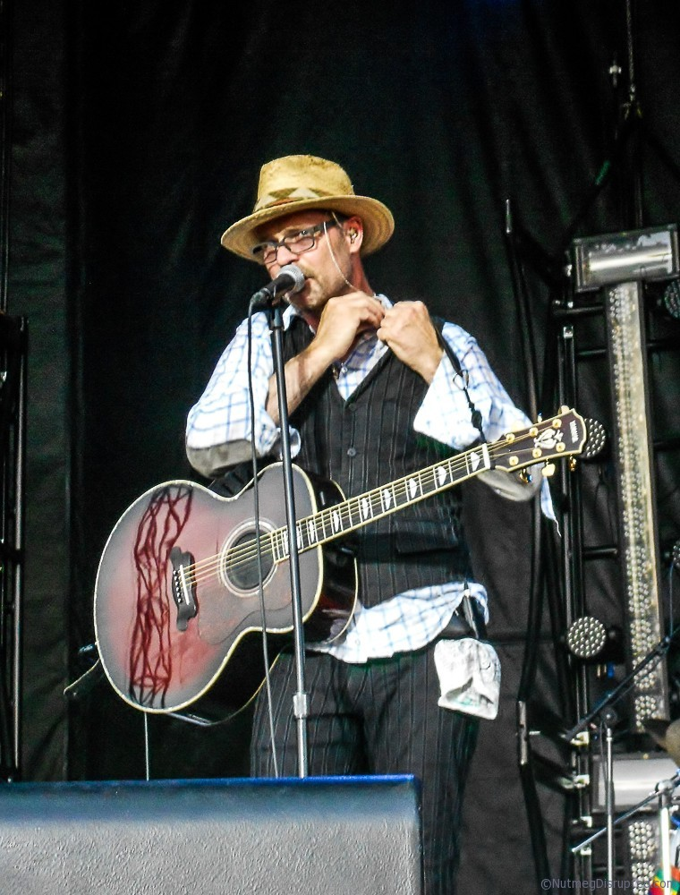 Gord Downie from The Tragically Hip