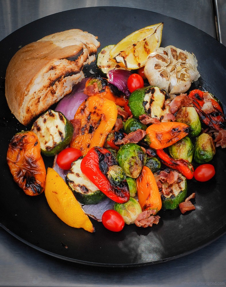 Grilled Vegetable Salad from Nutmeg Disrupted