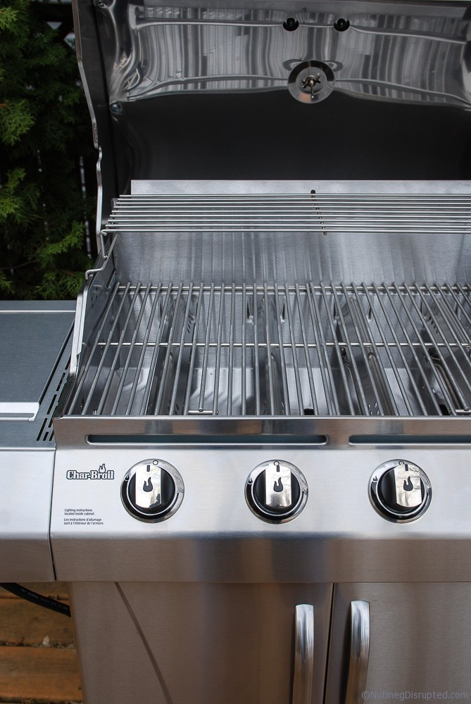 Stainles Steel 4 burner BBQ from Char Broil