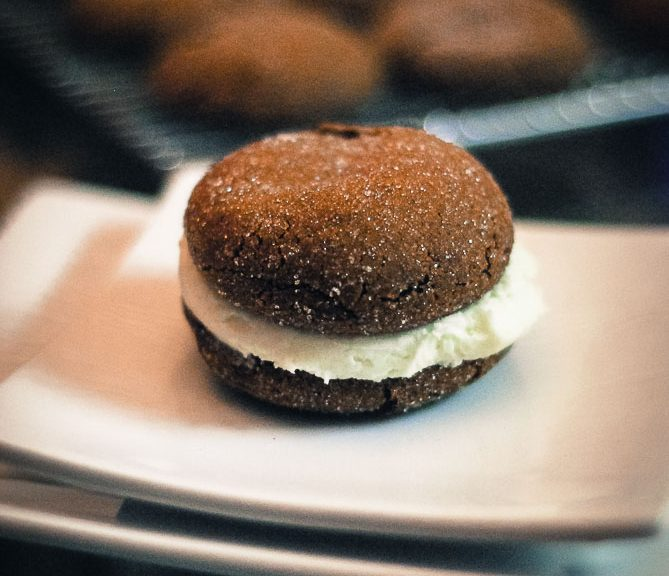 Gingerbread Whoopie Pies from Nutmeg Disrupted