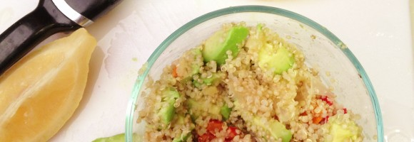 Quinoa Salad with Preserved Lemon
