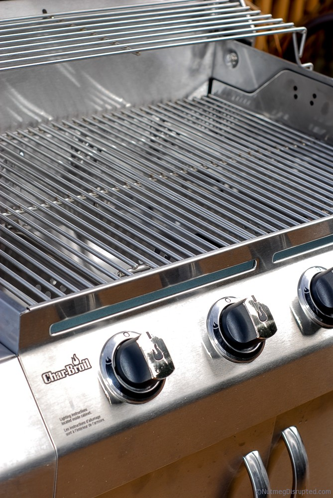 Stainles Steel 4 burner BBQ from Char Broil on Nutmeg Disrupted
