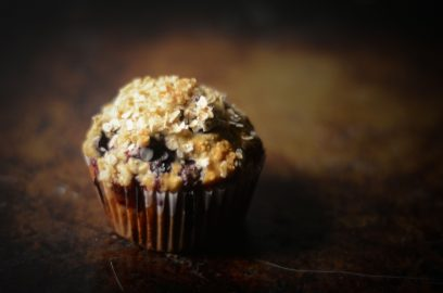 Berry Explosion Oatmeal Muffins