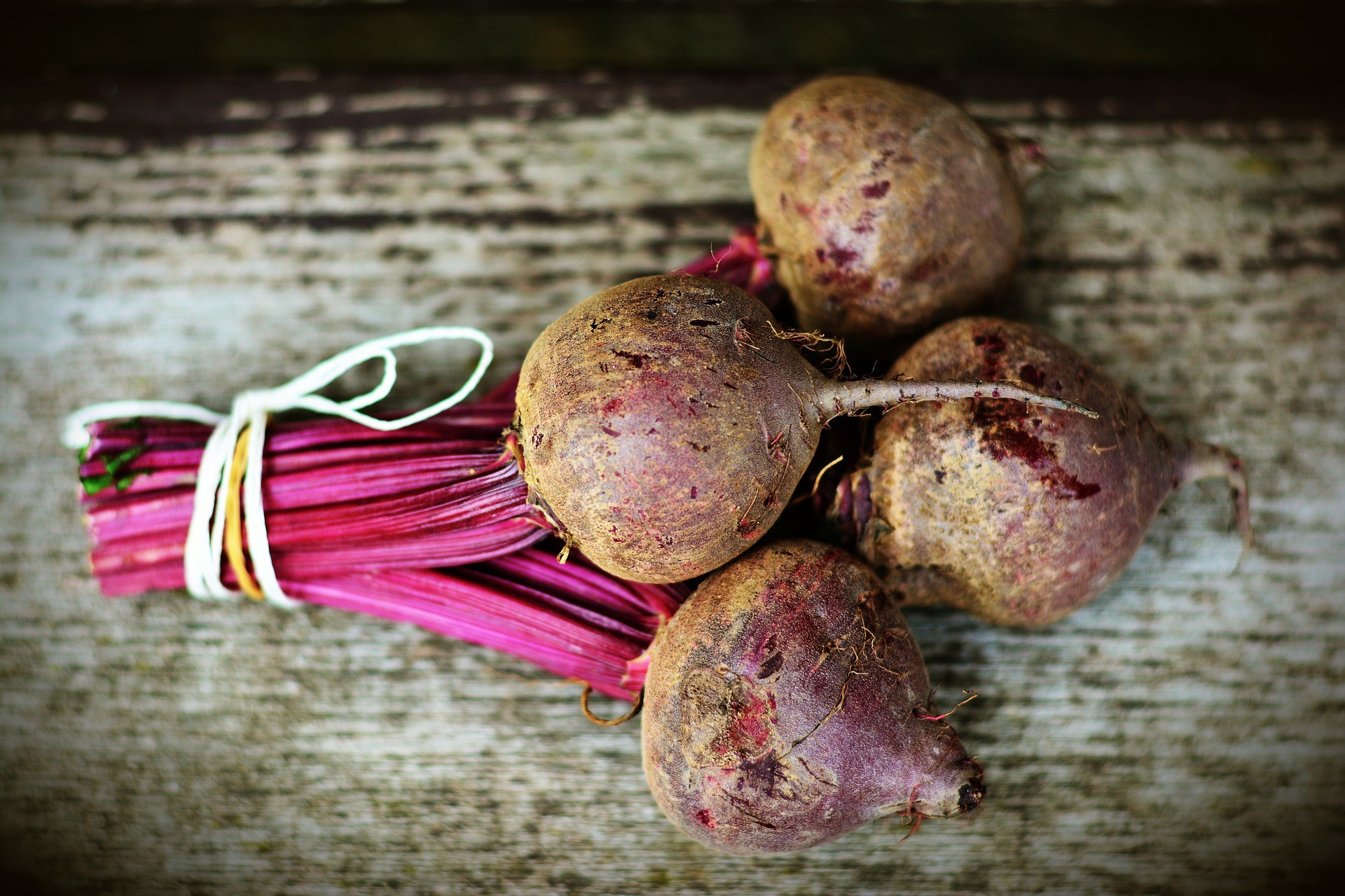 Using fresh beets in the Nutmeg Disrupted kitchen