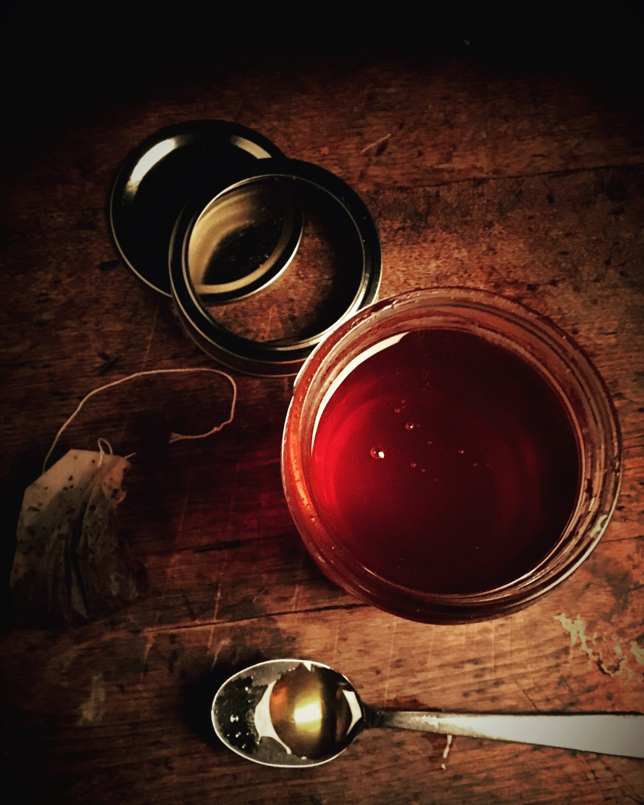 Infusing honey on Nutmeg Disrupted